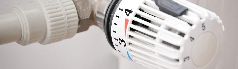 Verwarmings knop